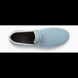 58f1573953b Ugg Cali wingtip Penny Loafers 9 dream blue new NWT